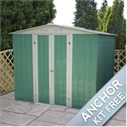 6 x 7 Waltons Apex Metal Shed