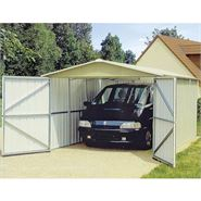 "9' 8"" x 17' 1"" Yardmaster Apex Metal Garage"